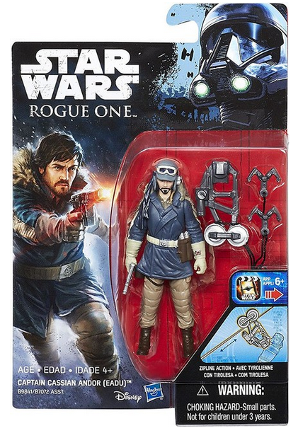 Damaged Packaging Star Wars Rogue One Captain Cassian Andor (Eadu) 3.75 Inch