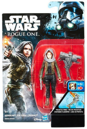 Star Wars Rogue One Jyn Erso (Jedha) 3.75 Inch Action Figure