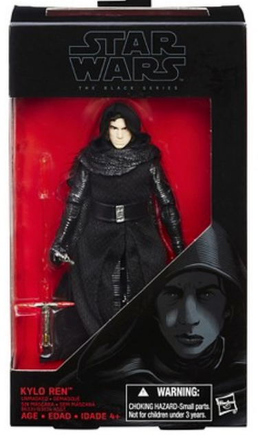 Star Wars Black Series Kylo Ren Unmasked #26 Action Figure