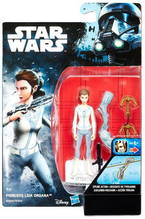 Damaged Packaging Star Wars Rogue One Princess Leia Organa 3.75 Inch Action Figure