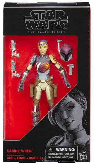 Star Wars Black Series Sabine Wren #33 Action Figure