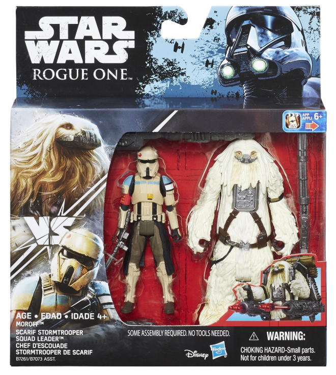 Star Wars Rogue One Scarif Stormtrooper Squad Leader & Moroff 2 Pack 3.75 Inch Action Figure