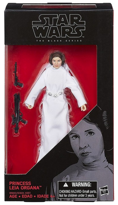 Star Wars Black Series Princess Leia Organa #30 Action Figure