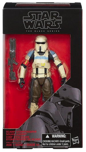 Star Wars Black Series Scarif Stormtrooper Squad Leader #28 Action Figure