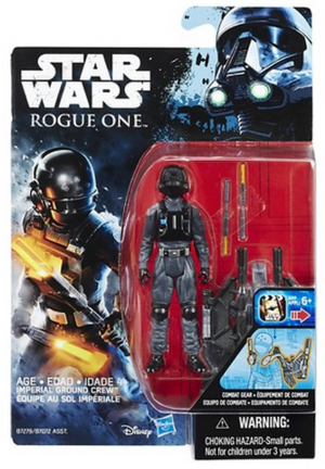 Star Wars Rogue One Imperial Ground Crew 3.75 Inch Action Figure