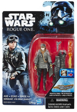 Star Wars Rogue One Sergeant Jyn Erso (Eadu) 3.75 Inch Action Figure