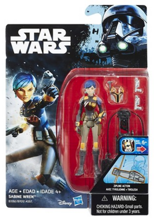 Star Wars Rogue One Sabine Wren 3.75 Inch Action Figure