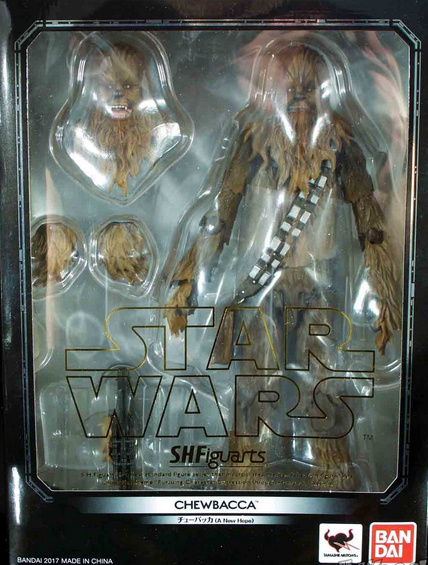 Star Wars Bandai SH Figuarts Chewbacca Action Figure
