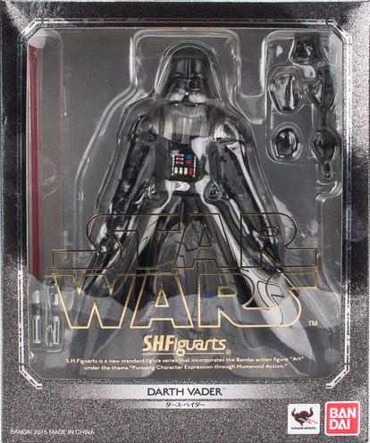 Star Wars Bandai SH Figuarts Darth Vader Reissue Action Figure
