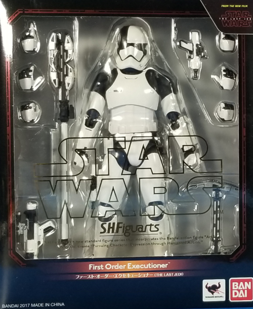Star Wars Bandai SH Figuarts Last Jedi First Order Executioner Action Figure