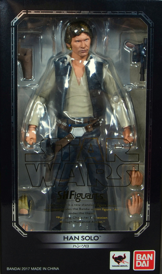 Star Wars Bandai SH Figuarts Han Solo Action Figure
