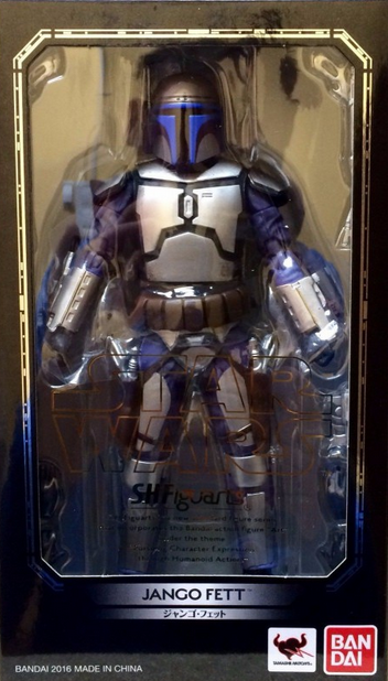 Star Wars Bandai SH Figuarts Jango Fett Action Figure