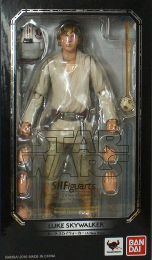 Star Wars Bandai SH Figuarts Luke Skywalker Action Figure