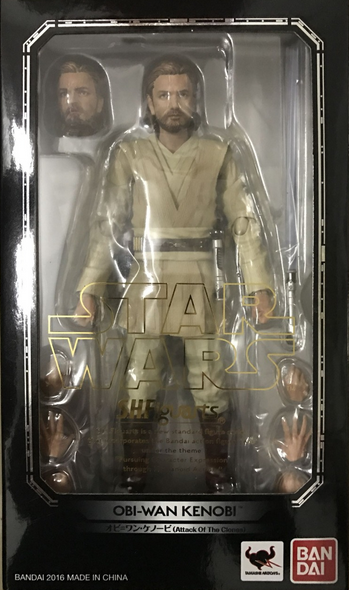 Star Wars Bandai SH Figuarts Episode II Obi-Wan Action Figure
