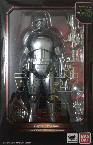 Star Wars Bandai SH Figuarts The Force Awakens Captain Phasma Action Figure