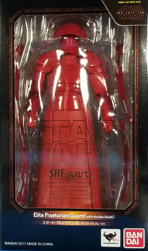 Star Wars Bandai SH Figuarts Last Jedi Praetorian Guard w/ Double Blade Action Figure