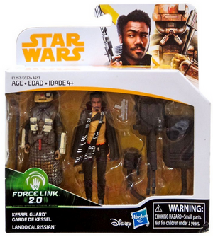 Star Wars Solo Lando Calrissian & Kessel Guard 2-Pack Movie 3.75 Inch