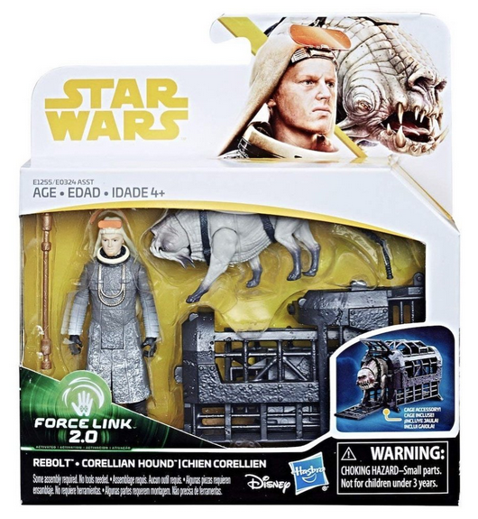 Star Wars Solo Rebolt & Corellian Hound 3.75 Inch Action Figure 2-Pack