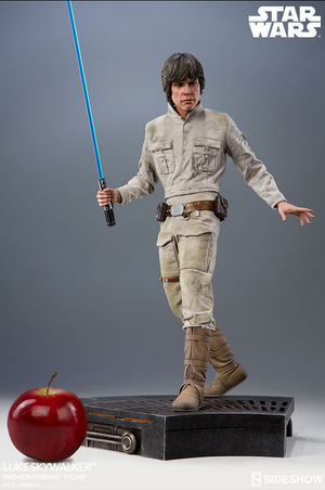 Star Wars Sideshow Collectibles Empire Strikes Back Luke Skywalker 1:4 Scale Premium Format Statue