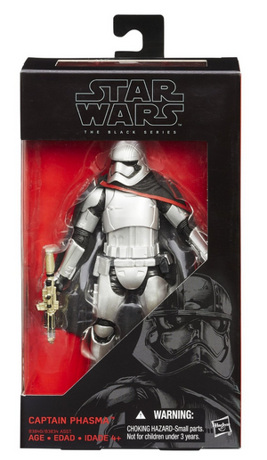 Star Wars Black Series Captain Phasma #6 Action Figure