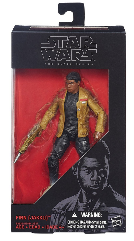 Star Wars Black Series Finn Jakku #1 Action Figure