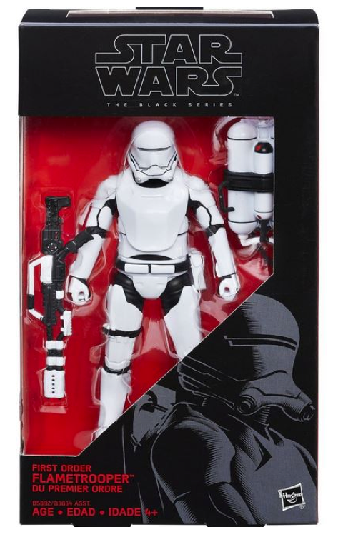 Star Wars Black Series First Order Flame Trooper #16 Action Figure