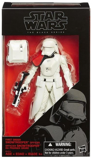 Star Wars Black Series Exclusive First Order Snowtrooper Officer Action Figure