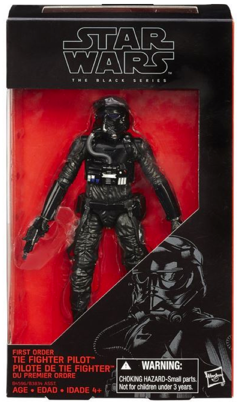 Star Wars Black Series First Order Tie Pilot #11 Action Figure