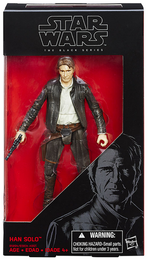 Star Wars Black Series Han Solo #18 Action Figure