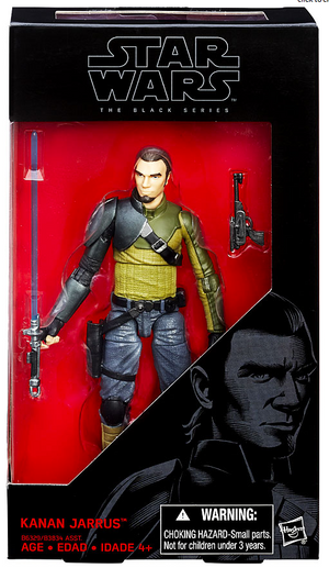 Star Wars Black Series Kanan Jarrus #19 Action Figure