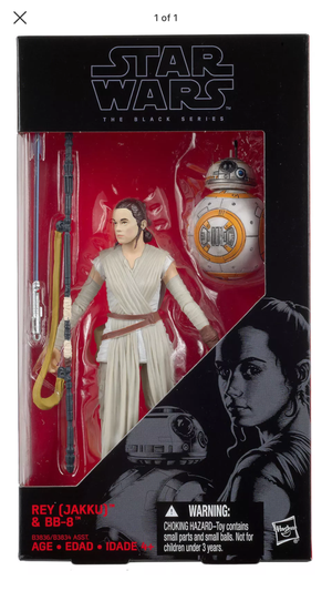Star Wars Black Series Rey Jakku #2 Action Figure