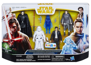 Star Wars Last Jedi Exclusive 3.75 Inch Action Figure 5-Pack Pre-Order