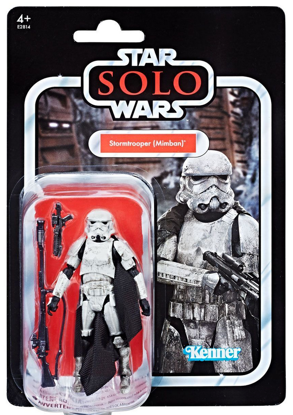 Star Wars The Vintage Collection Solo Mimban Stormtrooper Exclusive Action Figure