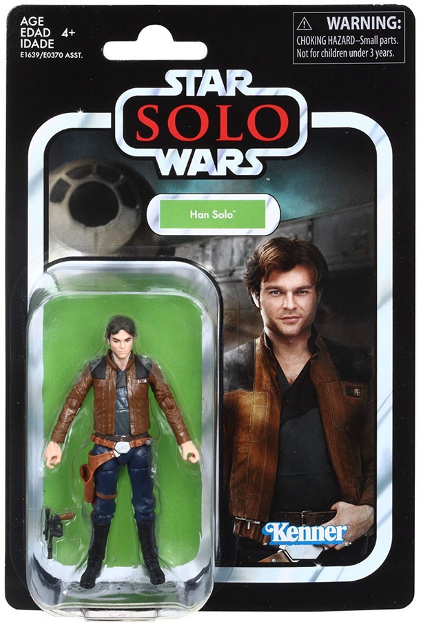 Star Wars The Vintage Collection Solo Han Solo Action Figure