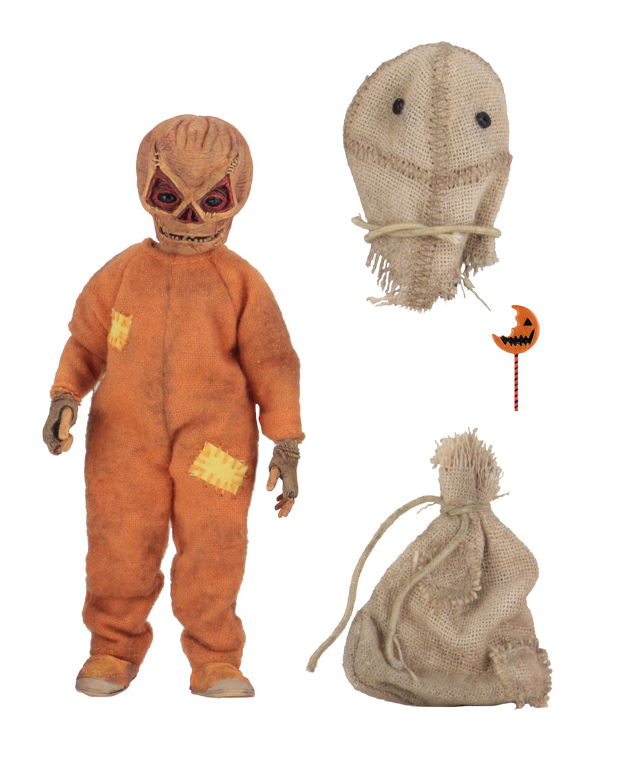 Trick r Treat Neca Sam 8 Inch Clothed Action Figure