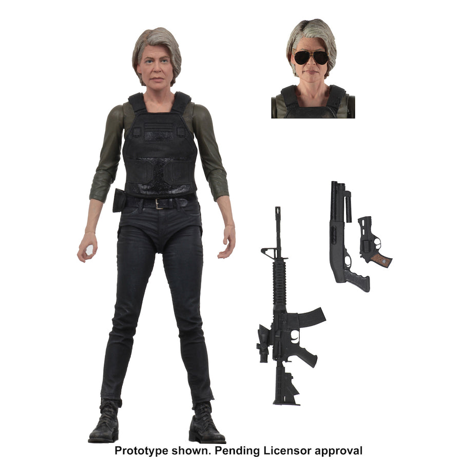 Terminator Neca Dark Fate Sarah Connor 7 Inch Action Figure