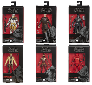 Star Wars Black Series Wave 3 Set of Six Action Figures