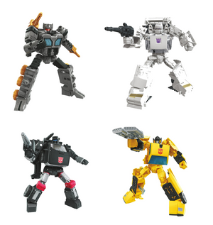 Transformers Earthrise War For Cybertron Wave 3 Deluxe Set of 4 Action Figures Pre-Order