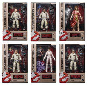 Ghostbusters Plasma Series 1 Set of Six Action Figures Pre-Order