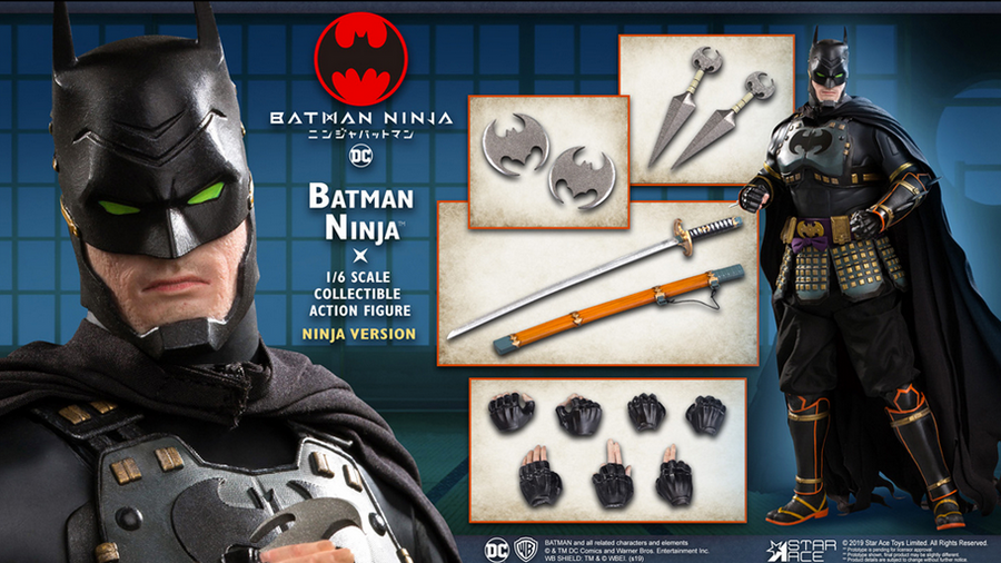 DC Star Ace Toys Ninja Batman 1:6 Scale Action Figure