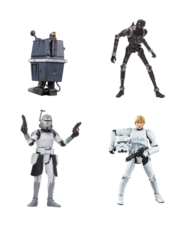 Star Wars The Vintage Collection 2020 Wave 1 Set of 4 Action Figure Pre-Order