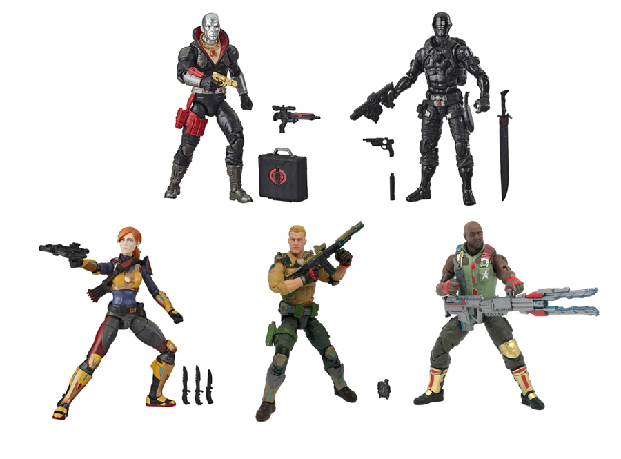 GI JOE Classified Series Wave 1 Set of 5 Action Figures Pre-Order
