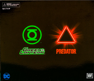 DC Predator Neca Exclusice Green Lantern vs Sinestro Predator Action Figure 2-Pack