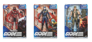 GI JOE Classified Series Wave 2 Set of 3 Action Figures Pre-Order