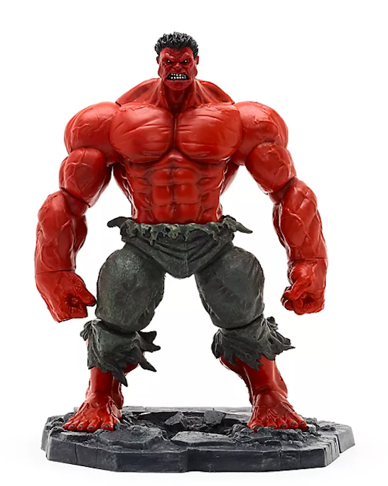 Marvel Diamond Select Exclusive Disney Store Red Hulk Action Figure Pre-Order