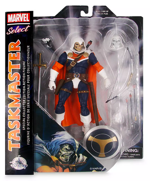 Marvel Diamond Select Exclusive Disney Store Taskmaster Action Figure Pre-Order