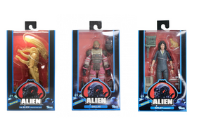 Alien Neca 40th Anniversary Series 1 Set of 3 Action Figures