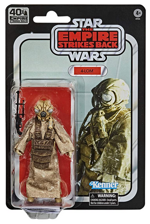 Star Wars Black Series 40th Anniversary Empire Strikes Back Exclusive Zuckuss Action Figure
