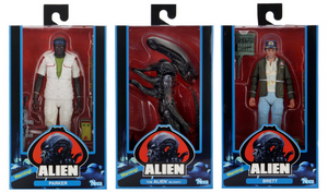Alien Neca 40th Anniversary Series 2 Set of 3 Action Figures