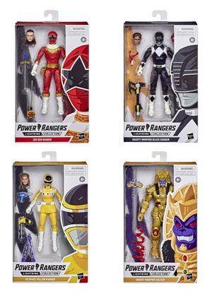 Power Rangers Lightning Collection Wave 6 Action Figure Set Of 4 Pre-Order